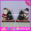2016 Wholesale Cheap Wooden Advent Calendar Ideas, Christmas Decorations Wooden Advent Calendar Ideas W09d013