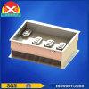 Dual Motor Controller Heatsink Made of Aluminum Alloy 6063
