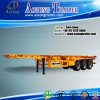 3 Axles 40ft Extendable Container Truck Trailer for Sale