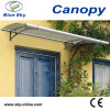 Medium Outdoor Aluminum and Polycarbonate Door Canopy (B900)
