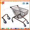 Fan /Arc Shaped Carts Supermarket Shopping Trolley (ZHt277)