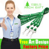 New Year Polyester Lanyards with Customized Logo for ID Cards