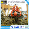 25t Steel Plates Hydraulic Orange Peel Grab for Shipcrane