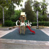 Recycle Rubber Tile/Colorful Rubber Paver/Interlocking Rubber Floor Tiles