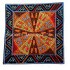 Fashion Vintage Colorful Yarn Tetragonum Ethnic Embroidery Patch Wholesale