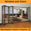 Four Sashes Folding Aluminum Door