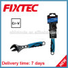 Fixtec Hand Tool Hardware CRV Material Adjustable Wrench