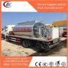 White Cabin 6000L Bitumen Tank Truck Liquid Asphalt Truck