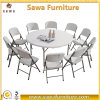 Restaurant Wedding Outdoor Plastic Folding Picnic Table and Chair