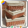 2017 Best Sale and High Quality Hand Knitting Wicker Basket and Storage Box and Bamboo Basket in The World