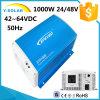 Sti1000W 48V 42~64VDC 50Hz Solar Inverter Pure Sine Wave Sti1000-48
