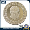 Die Casting Zinc Alloy Silver Mirror Metal Coin