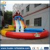Inflatable Water Slide with Water Pool, Commercial Rentals Waterslide for Fun