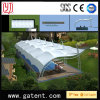 Arch Shape Single Side Stand Swimming Pool Shade Tent with Tensile Cover
