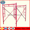 High Quality Ladder Frame Scaffolding H Type Scaffolding