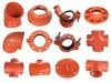 Ductile Iron Grooved Coupling Pipe Fittings