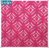 150cm Pink Nylon Lace Fabric for Lady Garment