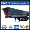 Cimc 3 Axle Tipper Dump Semi Trailer 30 Cubic with U Shape