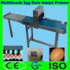 Batch Code Character Barcode 5heads Egg Tray Inkjet Printer Machine