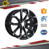 Black Alloy Wheels with 17 Inch Popular Design