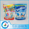 Printed Stand up Bag with Zipper for Lollipop Packaging