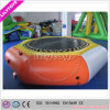 Durable 0.9mm PVC Jumping Inflatable Water Trampoline for Amusement Park