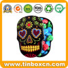 Hallowmas Skull Shape Confectionary Gift Storage Tins for Candy Sweets