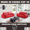 Miami Lounge Chair Red Genuine Leather Sofa
