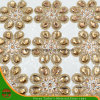 New Design Heat Transfer Adhesive Crystal Resin Rhinestone Mesh (HAYY-1746)