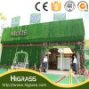 Customized Nature Look Artificial Turf for House Roof Decoration