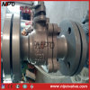 DIN Cast Steel Flanged Floating Ball Valve
