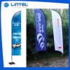 Exhibition 100% New Advertising Promotional Beach Flag (LT-17F)