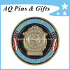 Police Challenge Metal Coins Medallion with Gold Plated