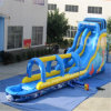 Blue Inflatable Long Water Slide for Kids (AQ1075-1)