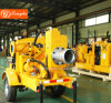 High Quality Non-Clogging Waste Water Diesel Pump with Trolly