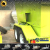 Mobile Skip Bin Trash Trailer with Customized Color