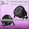 Aluminum LED PAR Can 54X3w RGBW Stage Lighting DMX