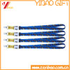 Cheap ID Card Lanyard with Metal Hook (YB-KY-60)