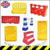 Road Traffic Safety Reflective Plastic Water Filled Barrier for Warning