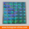 Blue 3D Laser Security Hologram Sticker