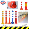 Colorful Pedestrian Safety Posts PVC/ PU/ EVA Rebound Warning Bollard