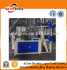 Four Line T Shirt Bag Cutting Machine Plastic Cloth Bag