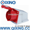 3 Phase 4 Pins 32A Red Power Outlet Surface Mounted