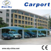 100% Anti-UV Economic Aluminum Carport with Polycarbonate Roof (B800)