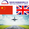 Air Shipping Forwarder From China to UK (London/Aberdeen)