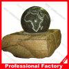 World Map Granite Ball Fountain