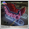 2016 New Christmas Decorations Outdoor LED Sleigh Lights