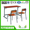 SF-10D Simple Used Double School Desk Cheap School Furniture