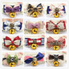 Quality Dog Bandanas Pet Fashion Bowtie Bell Collar