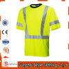 100% Cotton High Grade Anti-Static Safety Reflective High Visibility Tshirt